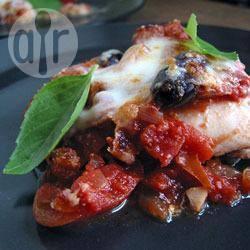Recette caponata d'aubergines au parmesan – toutes les recettes ...