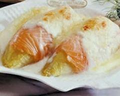 Recette gratiné d'endives au saumon