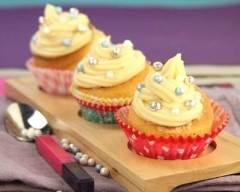 Recette cupcakes caramel et beurre salé, perles croustillantes