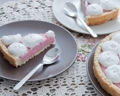 Recette tarte aux pralines roses