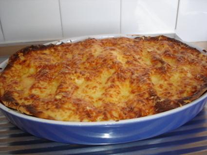 Recette de lasagnes à la sauce bolognaise