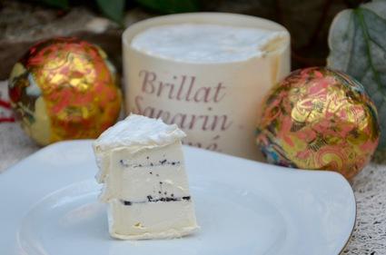 Recette de fromage brillat savarin truffé