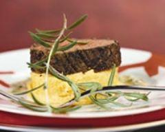 Recette filet de boeuf à la polenta