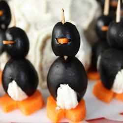 Recette pingouins au fromage à tartiner – toutes les recettes ...