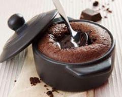 Recette mini cocottes de moelleux au chocolat
