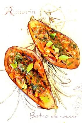 Recette de les aubergines façon provençales