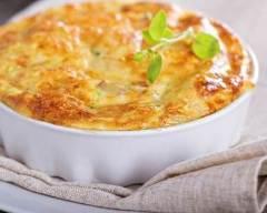 Recette clafoutis salé aux poires et fromages