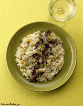 Risotto sucré pistaches-agrumes pour 4 personnes