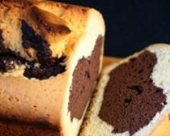 Recette cake marbré super allégé
