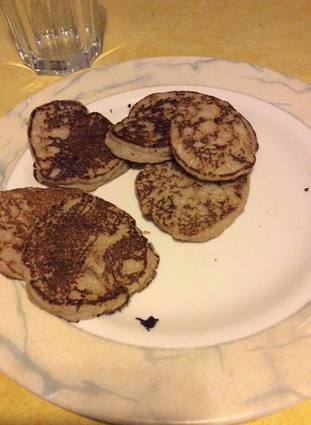 Recette de pancake diététique au son d'avoine et banane