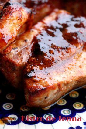 Recette de travers de porc marinés et grillés