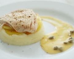 Recette aile de raie, sauce au beurre et aux câpres