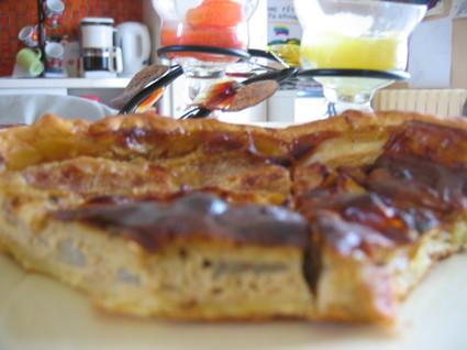 Recette de tarte aux poires et fromage blanc