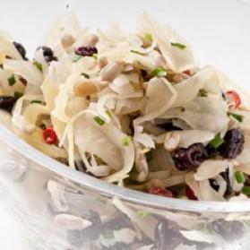 Salade de choucroute aux raisins et tournesol pour 4 personnes ...