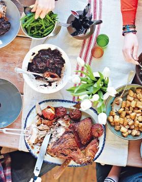 Rôti de porc du dimanche pour 8 personnes