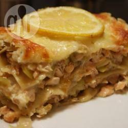 Recette lasagnes saumon