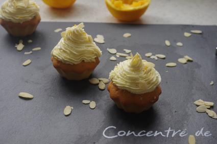 Recette de cupcakes à l'orange