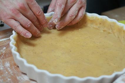 Recette de pâte à tarte minute