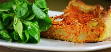 Recette de tarte à la carotte et aux épices
