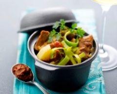 Recette curry de porc à la mangue
