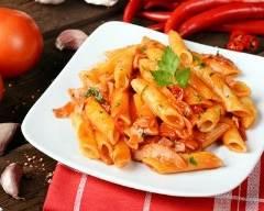 Recette pennes façon risotto aux tomates et au basilic