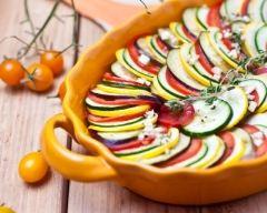 Recette tian de courgettes, aubergines et tomates