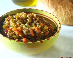 Recette salade de poivrons grillés à l'algérienne