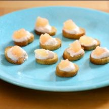 Bouchées croustillantes sucrées-salées