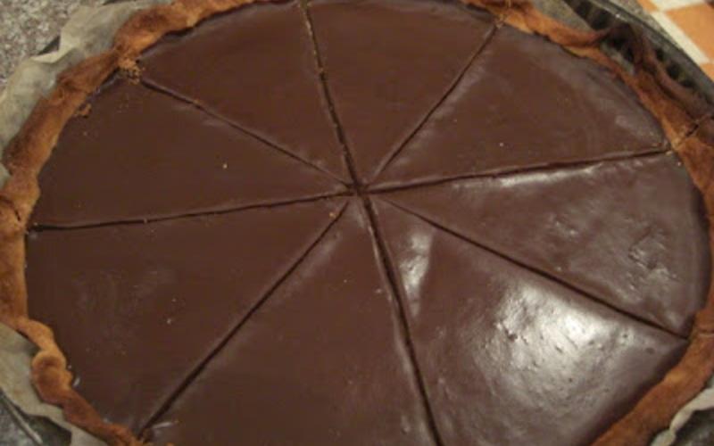 tarte aux deux chocolats express recette. Black Bedroom Furniture Sets. Home Design Ideas