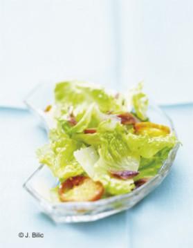 La classique  la salade caesar pour 4 personnes