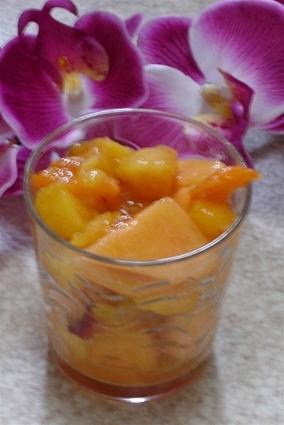 Recette de salade de fruits à l'eau de fleur d'oranger