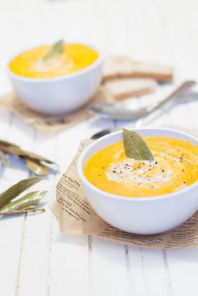 Recette de soupe de légumes grillés