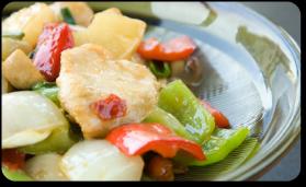 Poulet et légumes sautés pour 4 personnes