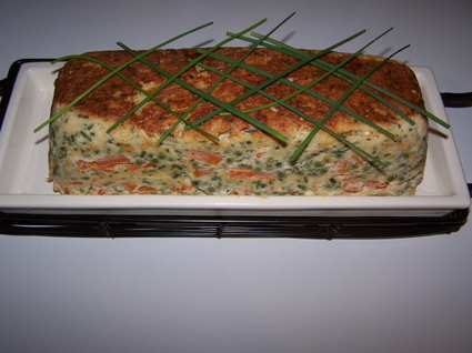 Recette de terrine de poisson aux petits légumes