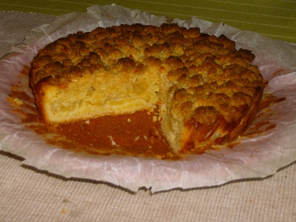 Recette de gâteau crumble à l'ananas