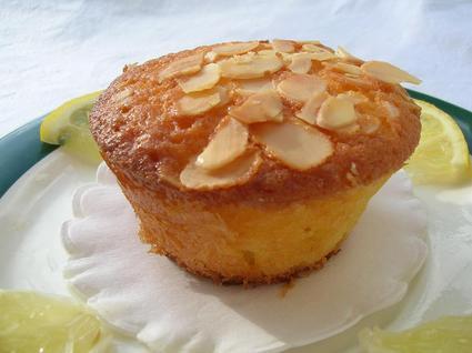 Recette de muffins citron amandes