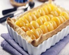 Recette tarte aux abricots et au miel