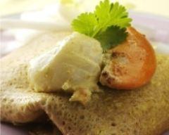 Recette pannequet de crêpe aux saint-jacques, endives et curry