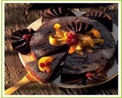 Recette délice aux noix, poires caramélisées et chocolat