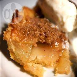 Recette tarte aux pommes façon crumble – toutes les recettes ...