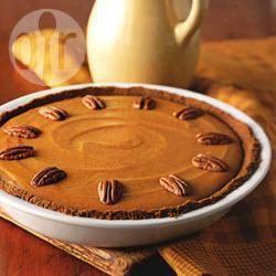 Recette tarte au potiron sur biscuits au gingembre – toutes les ...