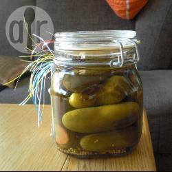 Recette concombres au vinaigre en conserves – toutes les recettes ...