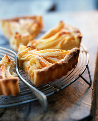 Recette de tarte aux pommes paysanne