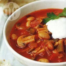 Recette chili aux haricots et à la tomate – toutes les recettes ...