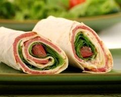 Recette wraps saveur bacon