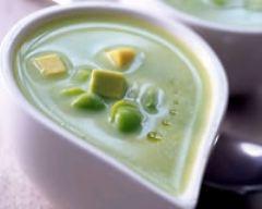 Recette soupe de fèves et petits pois