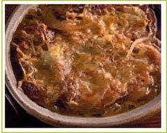 Recette soupe à l'oignon lyonnaise