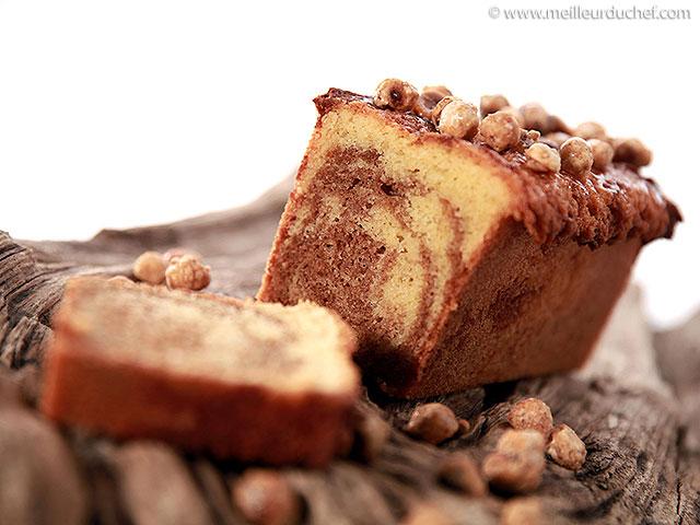 Cake au praliné  fiche recette avec photos  meilleurduchef.com