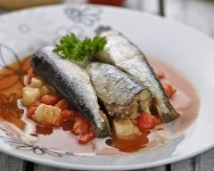 Recette sardines en sauce tomate et persil