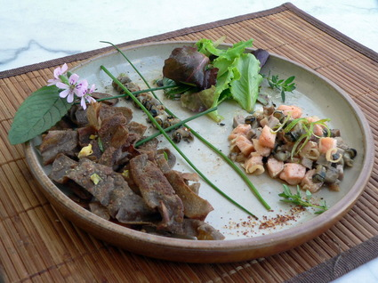 Recette assiette aux saveurs bretonnes